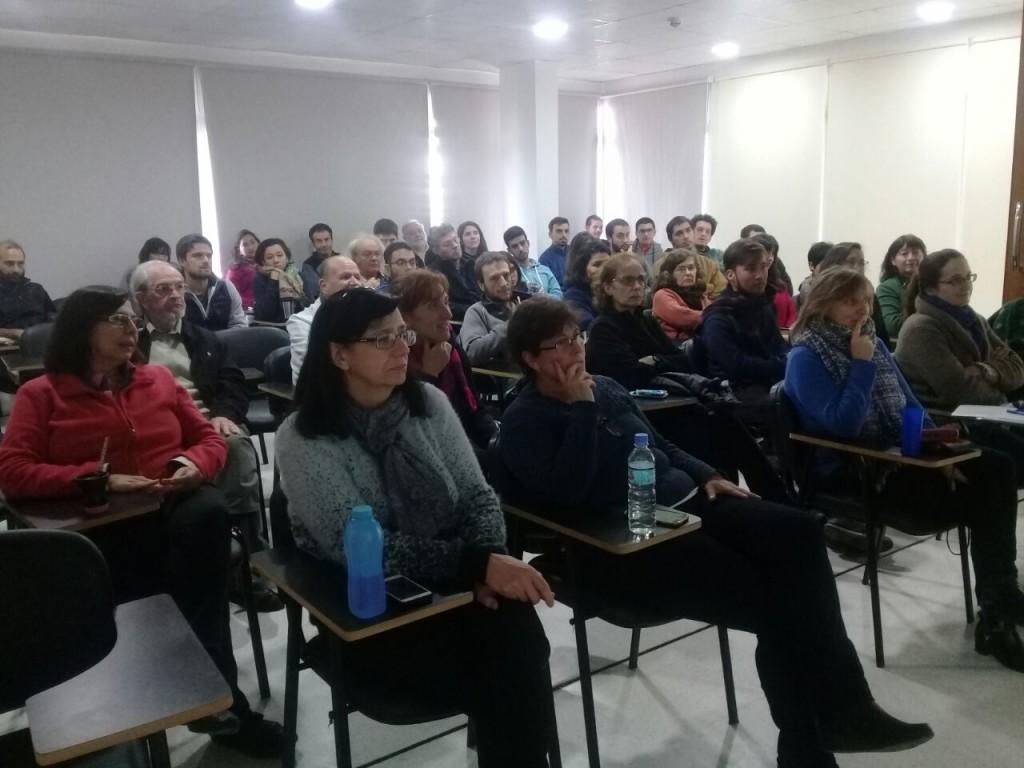 Audiencia (foto tomada por Noelia Borean - CEQUINOR)