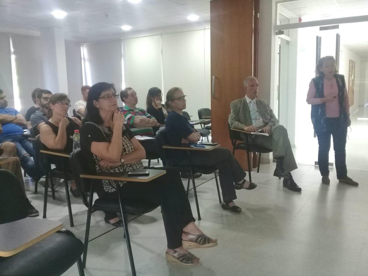 Audiencia de la charla