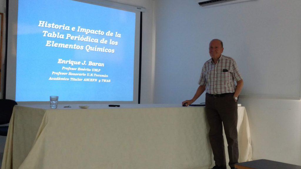 Prof. Dr. Enrique J. Baran
